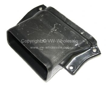 Genuine VW plastic fresh air duct to under dash heater box Right Used 68-79 - OEM PART NO: 221259220A