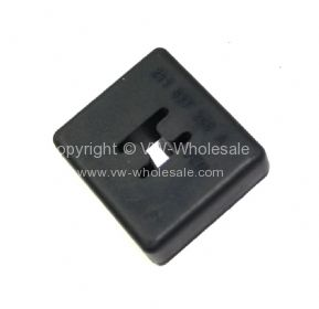 German quality cab door check strap rubber buffer Bus 68-7/75 - OEM PART NO: 211837261