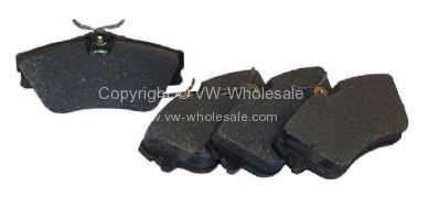 German quality front brake pads Lucas callipers T4 9/90-06/03 - OEM PART NO: 701698151E