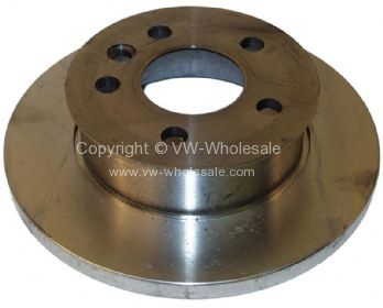 Brake disc, front, solid, 14 inches, 260x16mm, fits T4 - OEM PART NO: 701615301
