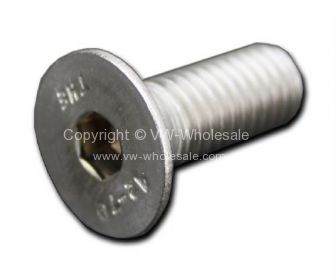 Stainless steel allen head counter sunk screw - OEM PART NO: