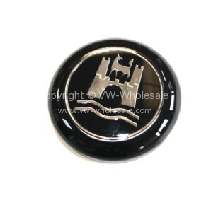 German quality horn button for OEM style steering wheel - OEM PART NO: 113415669B