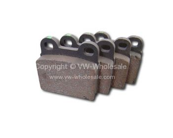 Brake pad set 2 pin Beetle 8/71-07/72 - OEM PART NO: 311698151BALT