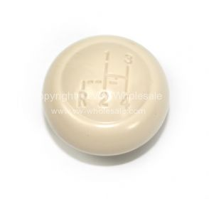 German quality ivory gear knob with shift pattern 7mm 60-8/67 - OEM PART NO: 113711141AIVP