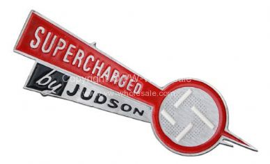 Dash Plate large Judson arrow - OEM PART NO: