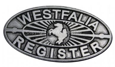 Dash Plate Westfalia register - OEM PART NO: