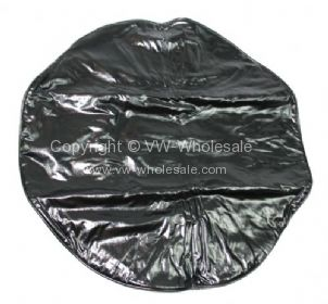 Empi spare wheel cover to cover the spare wheel mounted to the front panel Black 50-79 - OEM PART NO:
