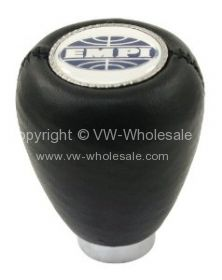 Empi logo gear knob Black Vinyl - OEM PART NO: