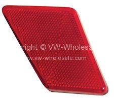 Side reflector Bug Left  70-72 - OEM PART NO: