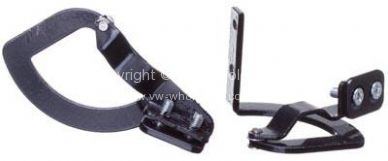 Genuine VW glove box hinges Ghia - OEM PART NO: 141898125A