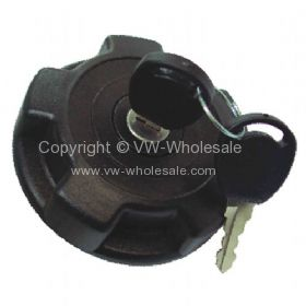 Genuine VW locking fuel cap with 2 keys Brazil bay 12/97-12/05 - OEM PART NO: 2372015511