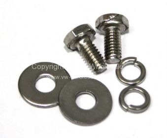 Stainless fixing screws and washers for flap 55-66 - OEM PART NO: 211729330