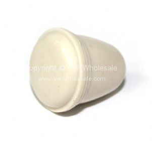 German quality knob for headlamp switch 5mm Ivory 55-67 - OEM PART NO: 113941541IV
