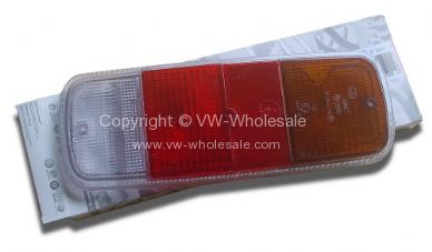 German quality smoked rear light lens 8/71-79 - OEM PART NO: 211945241PR