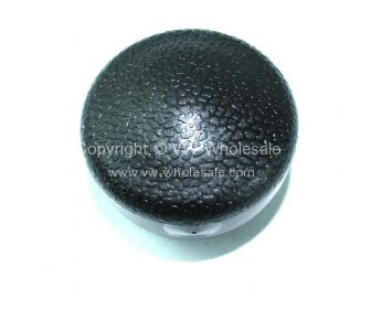 German quality black plastic gear knob 12 mm thread 68-79 - OEM PART NO: 141711141D