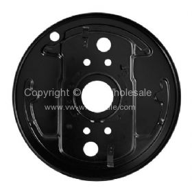 German quality front backing plate Right Bus 8/67-7/70 - OEM PART NO: 211609140A