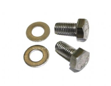 Stainless steel pick up drop side front eyelet fitting kit 1 needed per side 55-79 - OEM PART NO: N102371