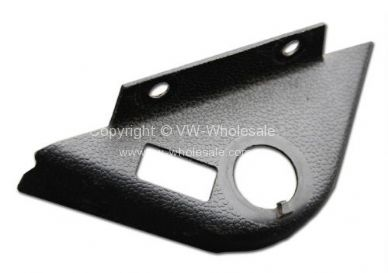 German quality plastic cover surround for handbrake release with hole for switch 68-79 - OEM PART NO: 2117114352
