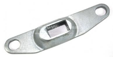 Genuine VW slide door front strike plate for locking mec Right door - OEM PART NO: 221843656