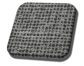 Mesh grey vintage material for split bus sold by the yeard - OEM PART NO: