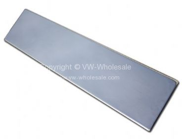 Stainless steel number plate backing mount plate 49- - OEM PART NO: CC88839