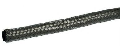 German quality fuel hose 6mm ID 12mm OD stainless braided - OEM PART NO: AC1278812