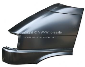 Front wing T4 without hole for indicator Short nose model weld on Left 90-4/96 - OEM PART NO: 701821021A