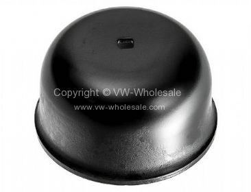 Genuine VW front grease cap with hole T25 80-92 - OEM PART NO: 251407691A