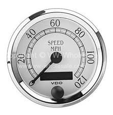 VDO Speedo Gauge 80mm 3-1/8 120MPH Royale - OEM PART NO: